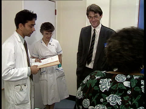 junior doctor death ms doctor other staff having meeting rob white