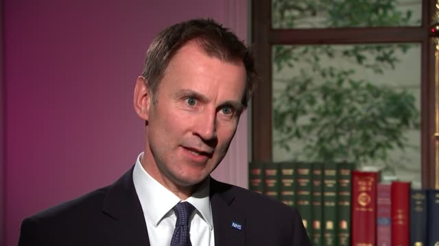 junior doctors' contracts to be imposed after talks with bma fail england london int jeremy hunt mp interview sot on becoming a hate figure never... - 政治家 ジェレミー ハント点の映像素材/bロール