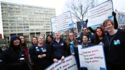 Junior Doctors Stage Second All Day Strike Over Pay And Conditions