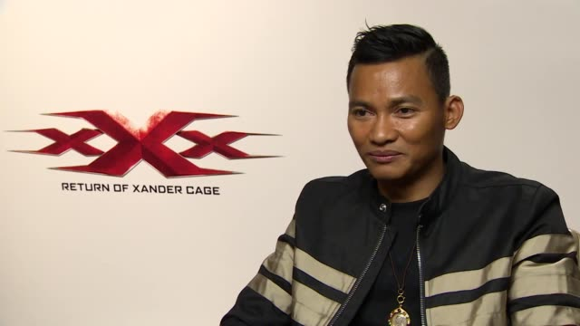 Junket Interview with Tony Jaa ahead of the release of new movie xXx Return of Xander Cage Discusses being called the 'lucky charm' by Vin Diesel and...
