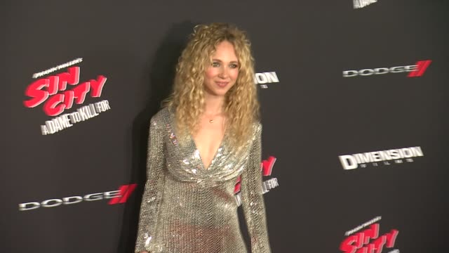 Juno Temple at Sin City A Dame To Kill For Los Angeles Premiere at TCL Chinese Theatre on August 19 2014 in Hollywood California
