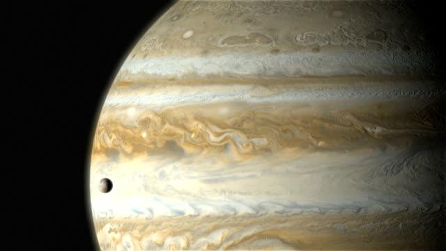 vídeos de stock e filmes b-roll de jupiter's moon io - júpiter