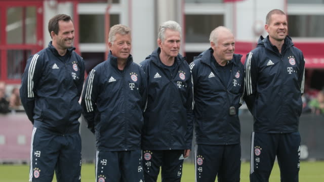 Jupp Heynckes Returns To Bayern Muenchen As Head Coach on October 09 2017 in Munich Germany Training
