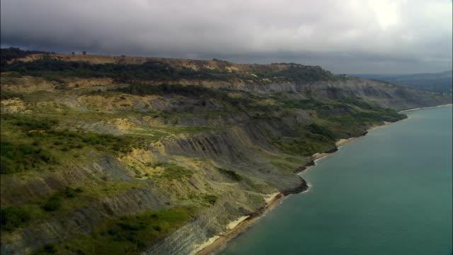 UNESCO-Welterbestätte Jurassic-Küste-Luftaufnahme-England, Dorset, West Dorset District Vereinigtes Königreich