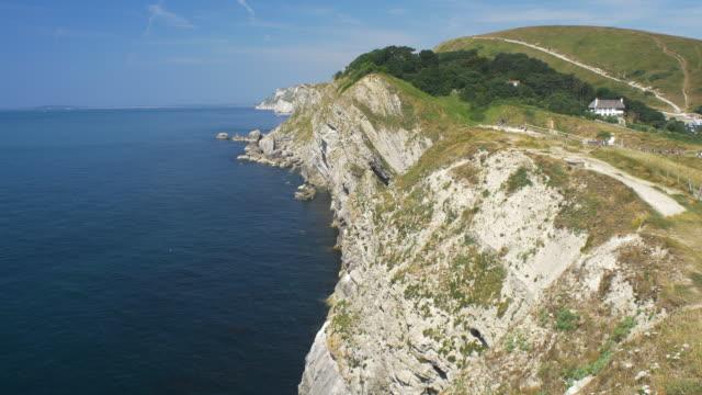 jurassic coast. dorset, england. - jurassic stock videos & royalty-free footage