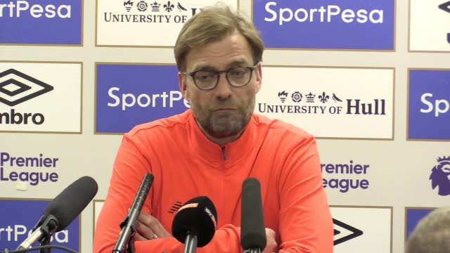 Jurgen Klopp reflects on a disappointing result for his side He says they gave easy goals away and played a very poor first half He laments the lack...