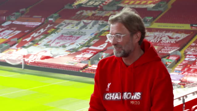 jurgen klopp saying the amount of relief i felt after liverpool won the premier league shows how much pressure there was - number stock videos & royalty-free footage