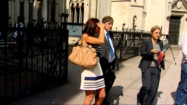 juror prosecuted for contacting defendant on facebook chritopher kinch qc interview sot jamie sewart leaving court jamie sewart speaking to press... - defendant stock videos and b-roll footage