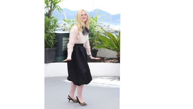 Jury Member Elle Fanning attends the Jury photocall during the 72nd annual Cannes Film Festival on May 14 2019 in Cannes France