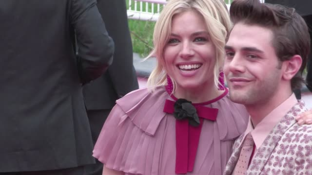 Jury members Sienna Miller and Xavier Dolan attend the Red Carpet of Macbeth during the 68th Annual Cannes Film Festival Saturday May 23 2015 Cannes...