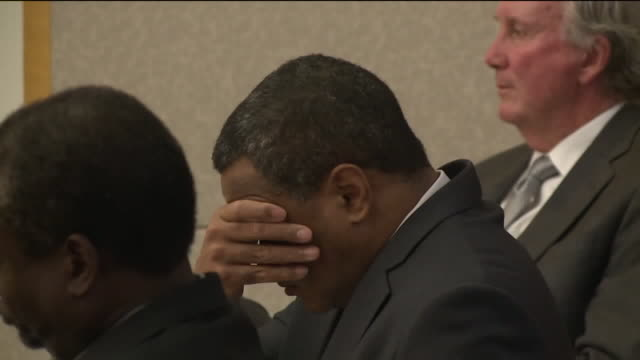 kswb a jury's verdict was interrupted monday when the defendant fainted after being found guilty on counts of conspiracy to commit murder and... - defendant stock videos & royalty-free footage