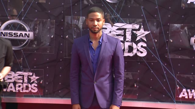 Jussie Smollett at the 2015 BET Awards on June 28 2015 in Los Angeles California