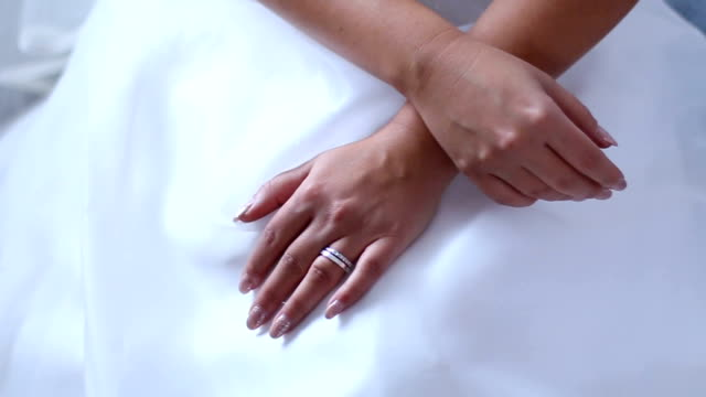 just married bride - wedding dress stock videos and b-roll footage