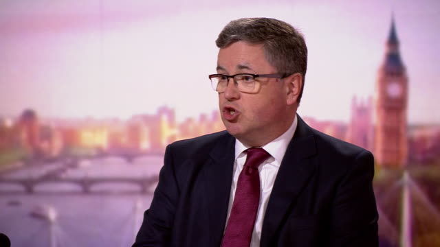 justice secretary robert buckland saying if he sees international law broken in a way i find unacceptable during brexit then i will go - talking politics stock videos & royalty-free footage