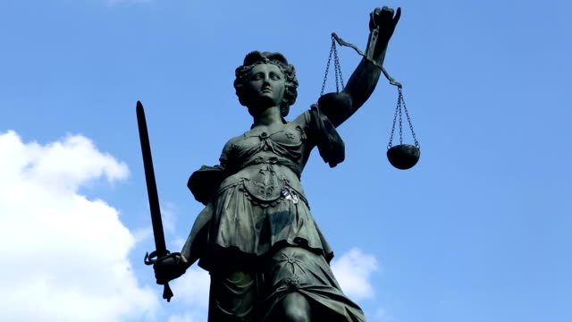 justice statue - time lapse - weight scale stock videos & royalty-free footage
