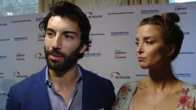 INTERVIEW Justin Baldoni and Emily Baldoni on why it was important for him to help honor Bob Saget and the work he's done for SRF why laughter makes...