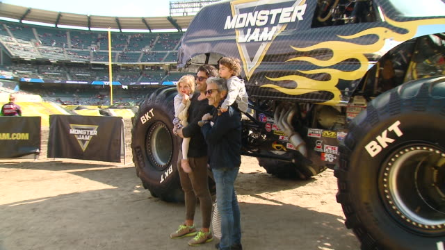justin baldoni at monster jam celebrity event at angel stadium on february 23, 2020 in anaheim, california. - angel stadium stock videos & royalty-free footage