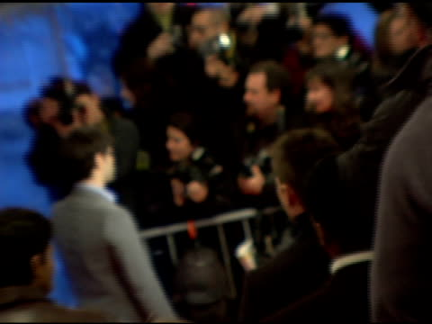justin bartha and press at the 'failure to launch' new york premiere at chelsea west in new york, new york on march 8, 2006. - failure to launch stock videos & royalty-free footage