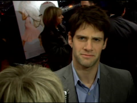 justin bartha at the 'failure to launch' new york premiere at chelsea west in new york, new york on march 8, 2006. - failure to launch stock videos & royalty-free footage