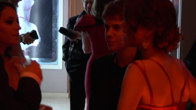 Justin Bieber and Selena Gomez at the 2011 Vanity Fair Oscar Party Inside at Hollywood CA
