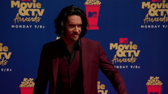 Justin Brescia at the 2019 MTV Movie TV Awards at Barkar Hangar on June 15 2019 in Santa Monica California