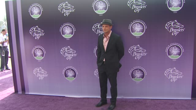 justin chambers at the breeders' cup world thoroughbred championships at arcadia ca - championships stock videos & royalty-free footage