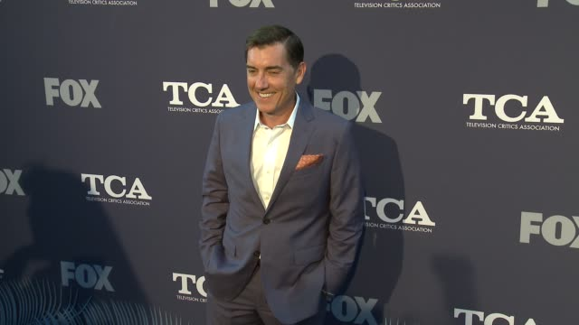 Justin Cronin at the FOX Summer TCA 2018 AllStar Party at Soho House on August 02 2018 in West Hollywood California