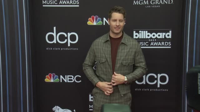 justin hartley at the 2019 billboard music awards at mgm grand garden arena on may 1 2019 in las vegas nevada - mgm grand garden arena stock videos & royalty-free footage