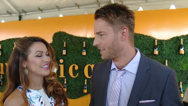 interview justin hartley at will rogers state historic park on october 15 2016 in pacific palisades california - pacific palisades stock videos & royalty-free footage