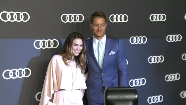 Justin Hartley Chrishell Stause at Audi Celebrates the 69th Emmys® in Los Angeles CA