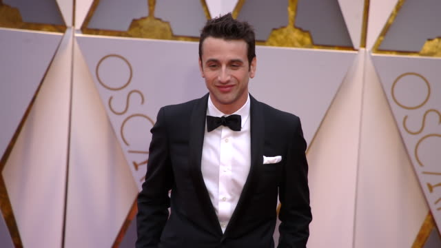 Justin Hurwitz at 89th Annual Academy Awards Arrivals at Hollywood Highland Center on February 26 2017 in Hollywood California 4K