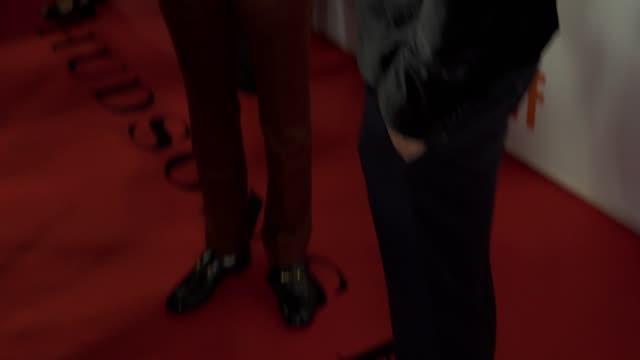 Justin Kelly arrives on the red carpet of 'Jeremiah Terminator LeRoy' during the Toronto International Film Festival on September 15 2018 in Toronto...