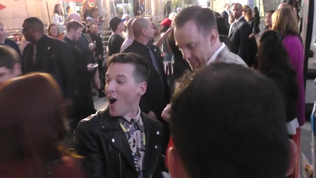 vidéos et rushes de justin kelly outside the j.t. leroy premiere at arclight cinemas in hollywood in celebrity sightings in los angeles, - arclight cinemas hollywood