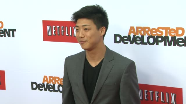 Justin Lee at Netflix's Arrested Development Season Four Los Angeles Premiere 4/29/2013 in Hollywood CA