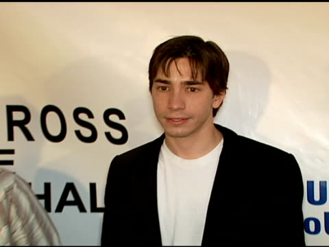 Justin Long at the 'Across The Hall' Premiere at the Museum of Television and Radio in Beverly Hills California on June 24 2006