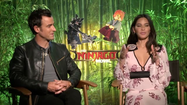 Justin Theroux says he had Donald Trump in mind when voicing a warlord in the latest Lego film The actor plays Garmadon an evil ninja trying to take...