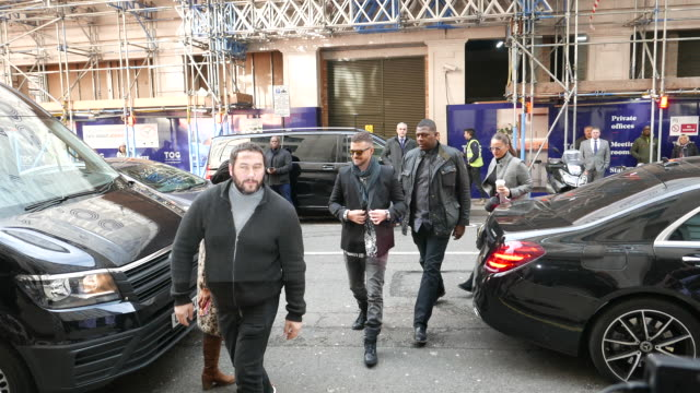 justin timberlake at bbc radio 2 studios at celebrity sightings in london on february 14, 2020 in london, england. - justin timberlake stock videos & royalty-free footage
