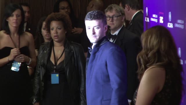 vídeos de stock, filmes e b-roll de justin timberlake at the 2008 presentation of the 23rd annual american cinematheque award at los angeles ca - premio american cinematheque