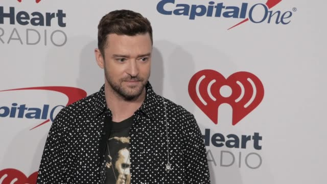 justin timberlake at the 2018 iheartradio music festival day 2 at tmobile arena on september 22 2018 in las vegas nevada - justin timberlake stock-videos und b-roll-filmmaterial