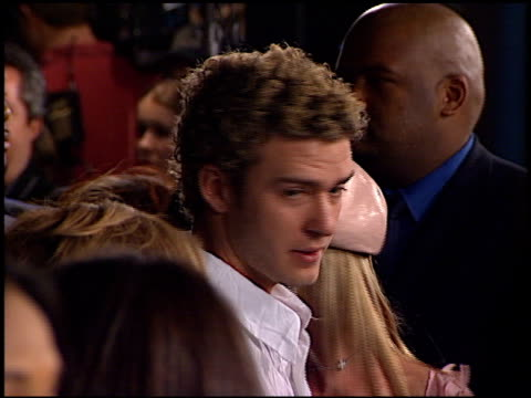 justin timberlake at the crossroads at grauman's chinese theatre in hollywood, california on february 11, 2002. - justin timberlake stock videos & royalty-free footage