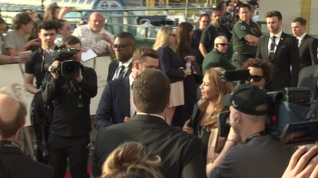 justin timberlake at the house of fraser british academy television awards on may 08 2016 in london england - british academy television awards stock videos & royalty-free footage