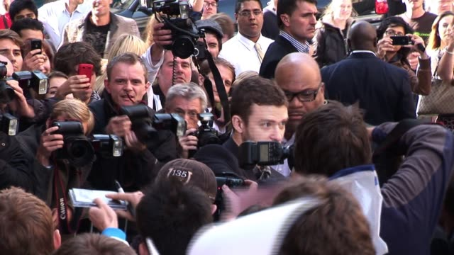 justin timberlake meets fans at radio one studios justin timberlake sighted at radio one studios on october 08, 2010 in london, england - justin timberlake stock videos & royalty-free footage