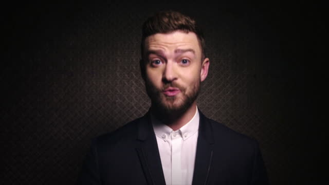speech justin timberlake presents at the entertainment industry foundation's education initiative 'think it up' at barkar hangar on september 11 2015... - justin timberlake stock-videos und b-roll-filmmaterial