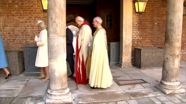 Justin Welby comments on inequality of UK economic growth / R23101304 London St James' Palace EXT Christening of Prince George Archibishop of...