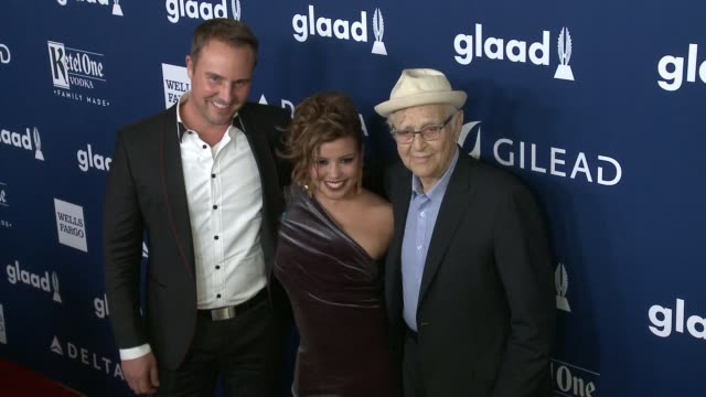 justina machado norman lear at 29th annual glaad media awards los angeles in los angeles ca - norman lear stock videos and b-roll footage
