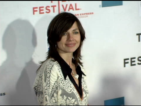 justine bateman at the 2006 tribeca film festival 'the tv set' premiere at tribeca performing arts center in new york new york on april 28 2006 - performing arts center stock videos & royalty-free footage