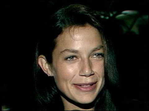 justine bateman at the afi awards honoring gregory peck at the beverly hilton in beverly hills california on march 9 1989 - gregory peck stock videos and b-roll footage