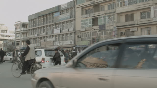 kabul city streets - kabul stock videos & royalty-free footage