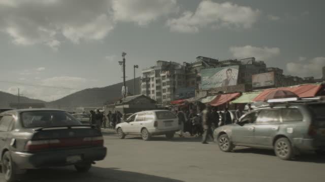 kabul city streets - カブール点の映像素材/bロール