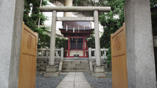 kabuto shinto shrine - shrine stock videos and b-roll footage